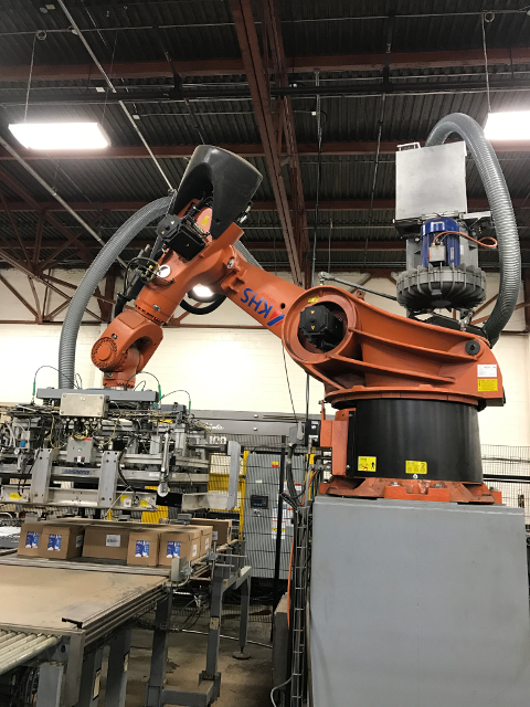 Kuka Robot: Palletizing