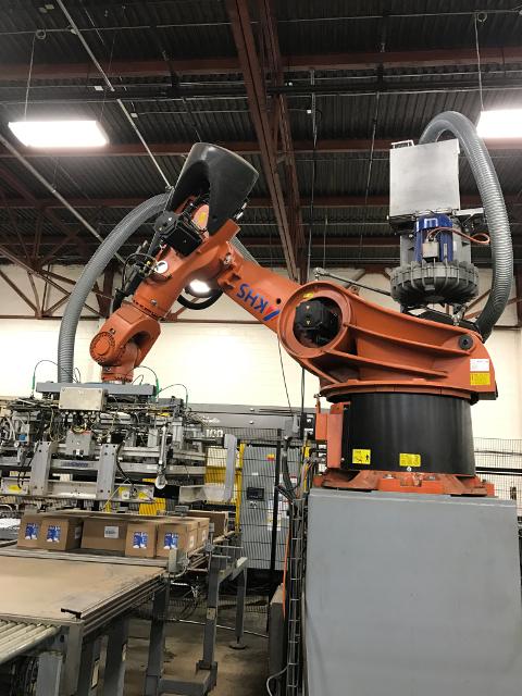 Kuka Robot: Palletizing